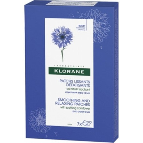 KLORANE SMOOTHING AND RELAXING EYE PATCHES 2X7TMX
