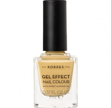 KORRES GEL EFFECT NAIL COLOUR 93 IT'S BANANAS 11ML