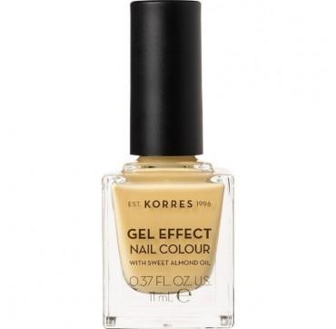 Korres Gel Effect Nail Colour 93 It's Bananas 11ml
