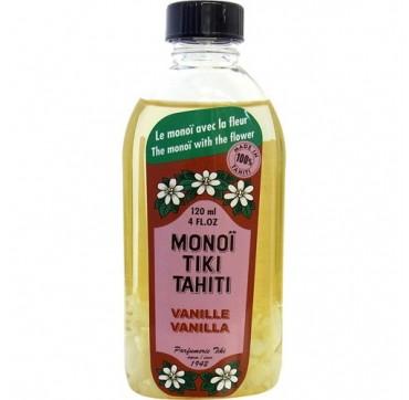 Monoi Tiki Tahiti Vanilla Λάδι Πολλαπλών Χρήσεων 120ml