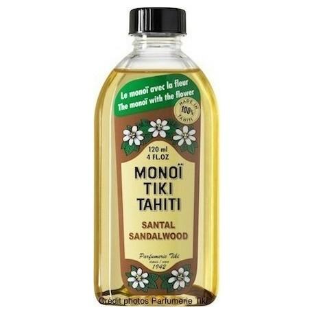 MONOI TIKI TAHITI SANDALWOOD 120ml