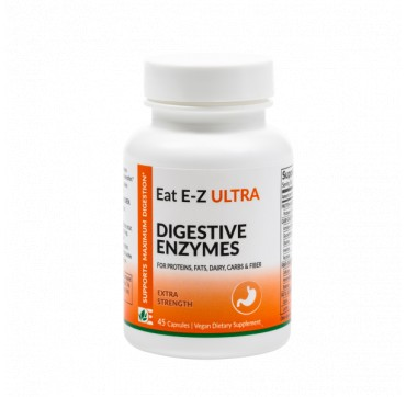 Dynamic Enzymes Eat E-z Ultra Extra Strength 45vcaps