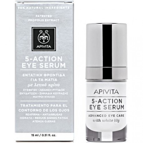 APIVITA 5 ACTION EYE ΟΡΟΣ15ml