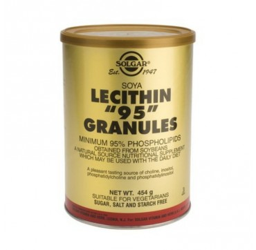 SOLGAR LECITHIN GRANULES 454gr