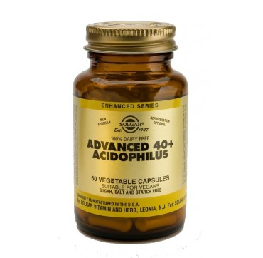 SOLGAR ADVANCE 40+ ACIDOPHILUS 60veg.caps