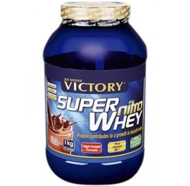 Weider Super Nitro Whey Σοκολάτα-πραλίνα 1kg