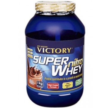 WEIDER SUPER NITRO WHEY CHOCOLATE 1kg