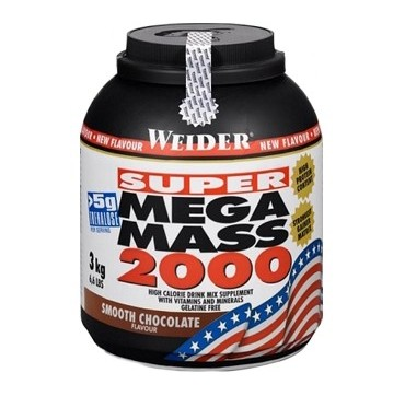 WEIDER SUPER MEGA MASS CHOCOLATE 3kg