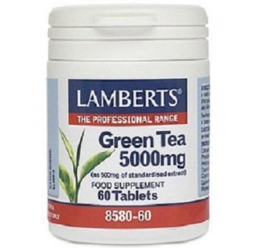 LAMBERTS GREEN TEA 5.000mg 60tabs