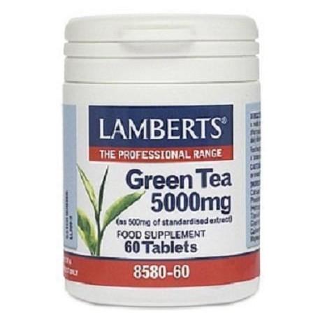 LAMBERTS GREEN TEA 5.000mg 60tabs