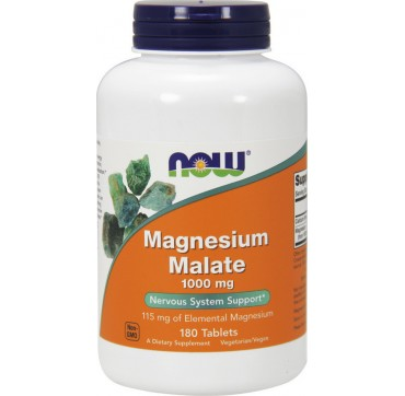 NOW MAGNESIUM MALATE 1000MG 180TABS