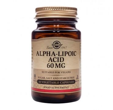 Solgar A-lipolic Acid 60mg 30veg.caps