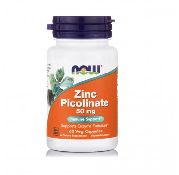 Now Zinc Picolinate 50mg 60v.caps