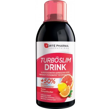 Forte Pharma Turboslim Drink Εσπεριδοειδή 500ml