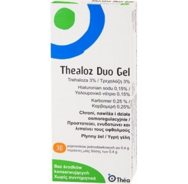 Thea Thealoz Duo Gel 30x0.4gr