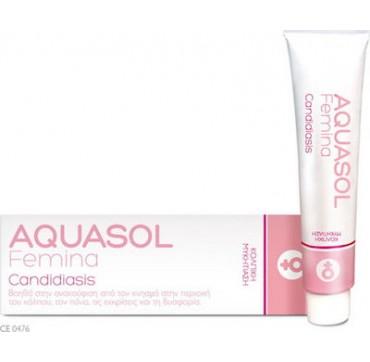 Olvos Science Aquasol Femina Candidiasis Cream Gel 30ml