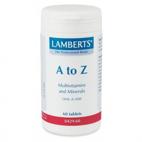 LAMBERTS A TO Z MULTIVITAMINS 60tabs