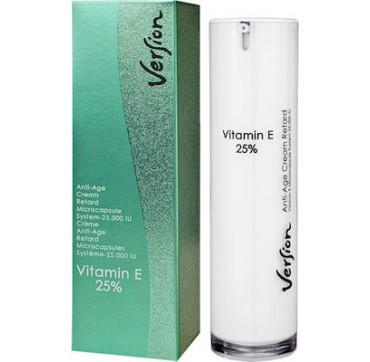 Version Vitamin E 25% Face Cream Pump 50ml
