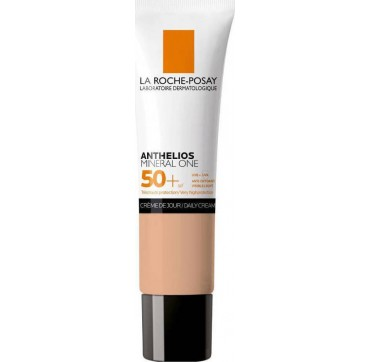 LA ROCHE-POSAY ANTHELIOS MINERAL ONE SPF50+ no3/TAN DAILY CREAM ΑΝΤΗΛΙΑΚΗ ΜΕ ΧΡΩΜΑ ΓΙΑ ΜΑΤ ΑΠΟΤΕΛΕΣΜΑ 30ML