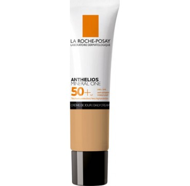 LA ROCHE-POSAY ANTHELIOS MINERAL ONE SPF50+ no4/BROWN DAILY CREAM ΑΝΤΗΛΙΑΚΗ ΜΕ ΧΡΩΜΑ ΓΙΑ ΜΑΤ ΑΠΟΤΕΛΕΣΜΑ 30ML