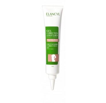 Elancyl Stretch Mark Correction Gel Μείωση Πρόσφατα Εγκατεστημένων Ραγάδων 75ml
