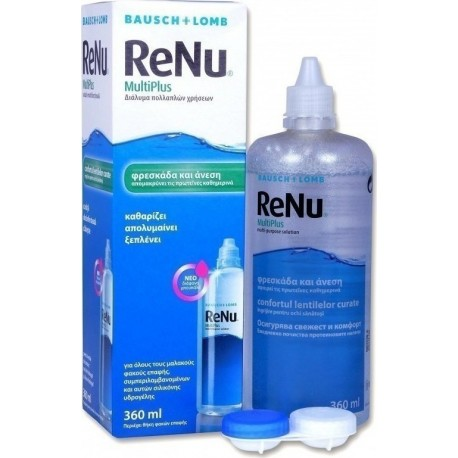 BAUSCH AND LOMB RENU MULTIPLUS 360ml