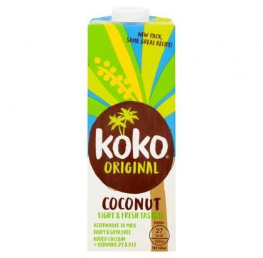 Koko Original Bio Dairy Free Ρόφημα Καρύδας Με Ασβέστιο Χωρίς Λακτόζη 1lt