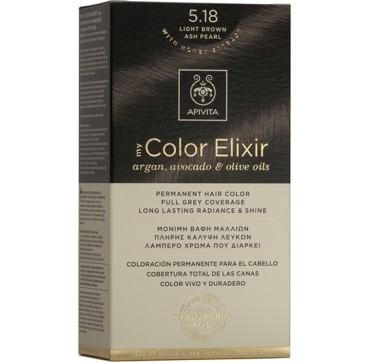 Apivita My Color Elixir 5.18 Καστανό Ανοιχτό Σαντρέ 1TMX