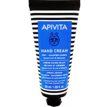 APIVITA HAND CARE DRY HANDS ΒΑΛΣΑΜΟ – ΜΕΛΙΣΣΟΚΕΡΙ 50ml