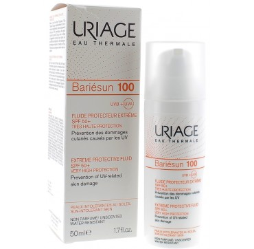 Uriage Bariesun Fluid 100 Spf50+ 50ml