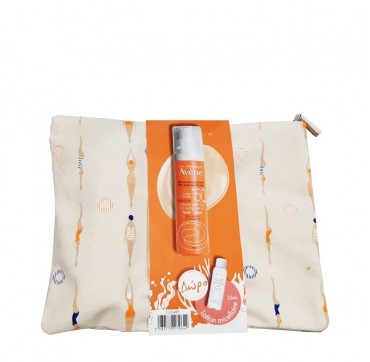 Avene PROMO Very High Protection Tinted Anti-Aging Suncare 50ml & Eau Thermale Lotion Micellaire 25ml