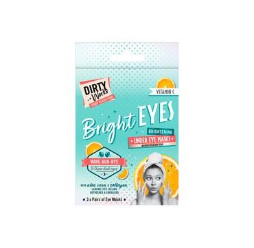 Dirty Works Brightening Under Eye Masks Μάσκες Ματιών Με Βιταμίνη C 3tmx