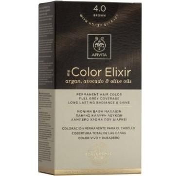 Apivita My Color Elixir N4. 0 Κάστανο 1τμχ