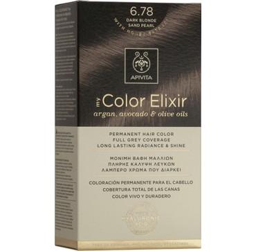 Apivita My Color Elixir N6. 78 Ξανθό Σκούρο Μπεζ Περλε 1τμχ