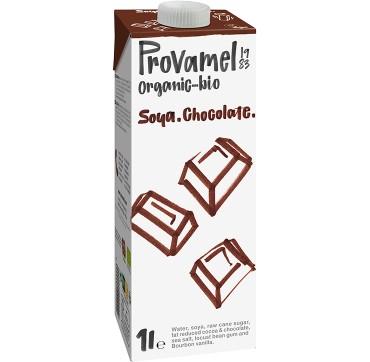 Provamel Organic-Bio Soya Chocolate Ρόφημα Σόγιας Με Γεύση Σοκολάτα Χωρίς Γλουτένη/Χωρίς Λακτόζη 1LT