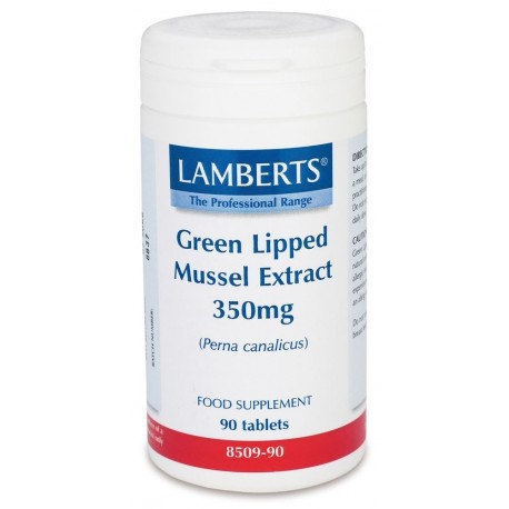 LAMBERTS GREEN LIPPED MUSSEL EXTRACT 350mg 90tabs