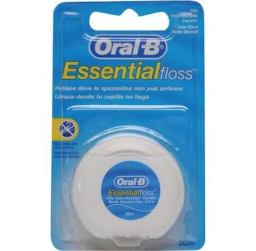 Oral-b Essential Floss Οδοντικό Νήμα Κυρωμένο 50m