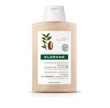 Klorane Nourishing & Repairing Shampoo with Organic Cupuacu Butter Σαμπουάν για Πολύ Ξηρά Μαλλιά 400ml