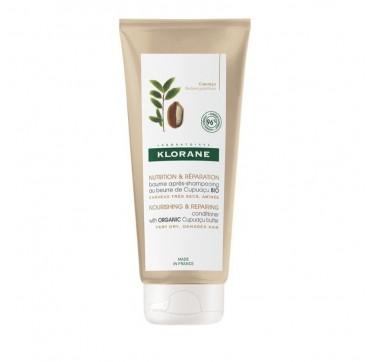Klorane Nourishing & Repairing Conditioner With Organic Cupuacu Butter Μαλακτική Κρέμα Μαλλιών 200ml