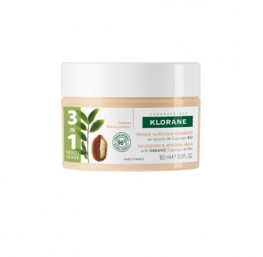 Klorane Nourishing & Repairing Mask With Organic Cupuacu Butter 150ml