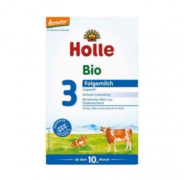 HOLLE Bio 3 Γάλα Δεύτερης Βρεφικής Ηλικίας από τον 10ο μήνα 600g