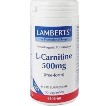 LAMBERTS L-CARNITINE 60caps