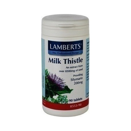 LAMBERTS MILK THISTLE 8500mg 90tabs