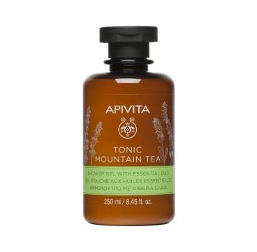 Apivita Tonic Mountain Tea Showergel Αφρόλουτρο με Αιθέρια΄Έλαια 250ml