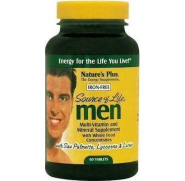 Nature's Plus Source of Life Men 60Tabs