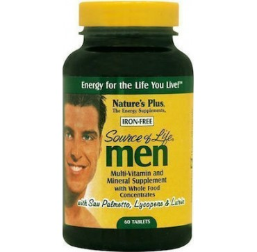 Nature's Plus Source Of Life Men 60tabs