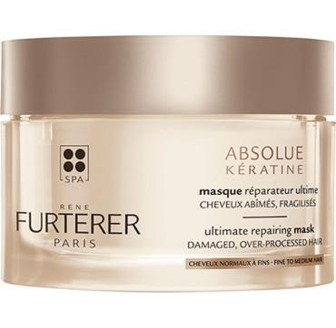 Rene Furterer Absolue Keratine Ultimate Repairing Mask Fine To Medium Hair 200ml