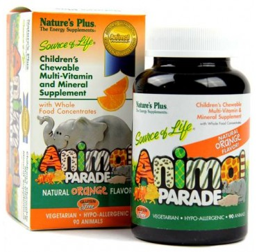 Nature's Plus Animal Parade 90TABS