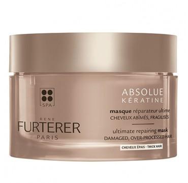 Rene Furterer Absolue Keratine Renewal Case Ultimate Repairing Mask Thick Hair Μάσκα Αναδόμησης για Χονδρή Τρίχα 200ml