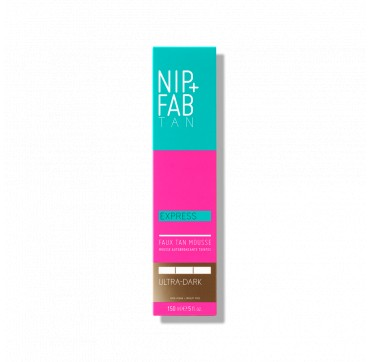 NIP+FAB TAN EXPRESS FAUX TAN MOUSSE ULTRA-DARK 150ML